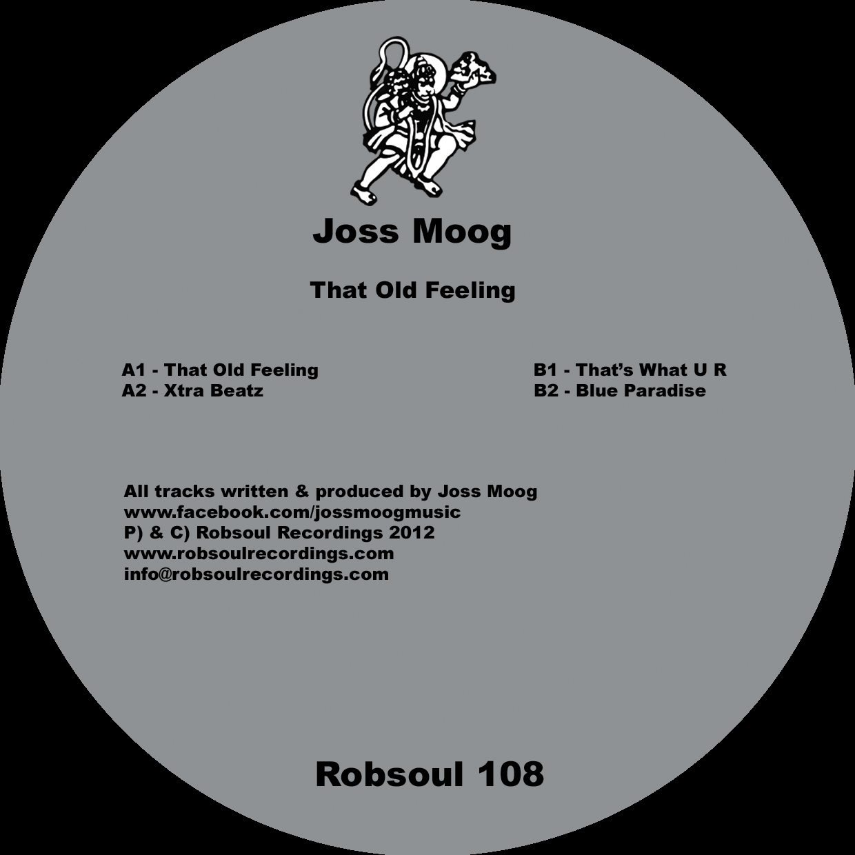 Joss Moog That Old Feeling Robsoul Recordings